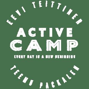 Active Camp - logo - white